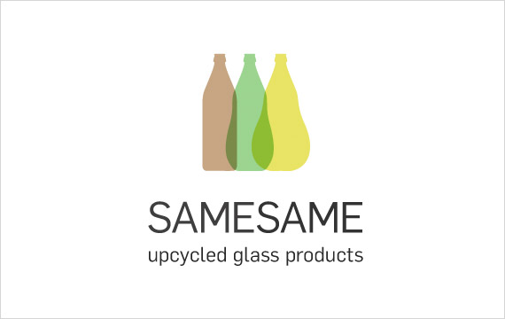 SAMESAME upcycled glass products - Foto: www.samesame-shop.de